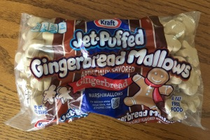 Gingerbread marshmallows