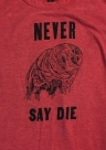 Never say die tardigrade (from Levigator Press)